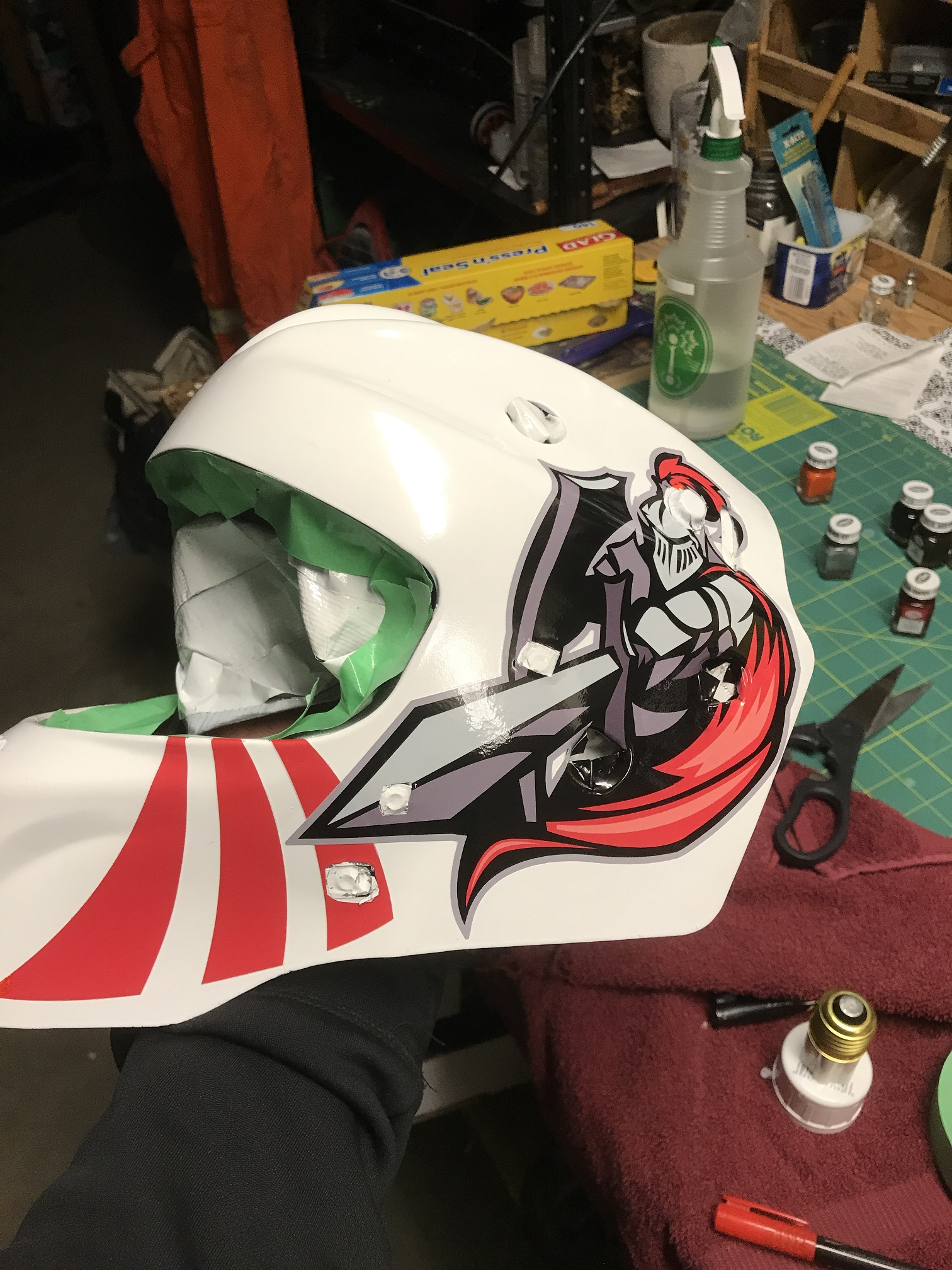 Foster Hydro Dipping – Custom Graphics Solutions